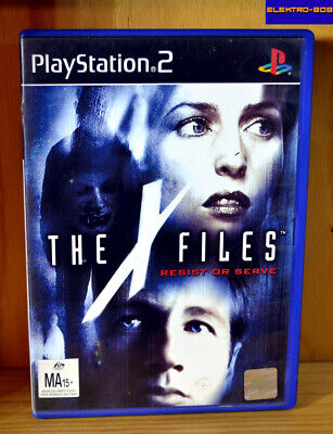 Playstation 2 PS2 X-Files Resist or Serve - Tested/No Manual FREEPOST