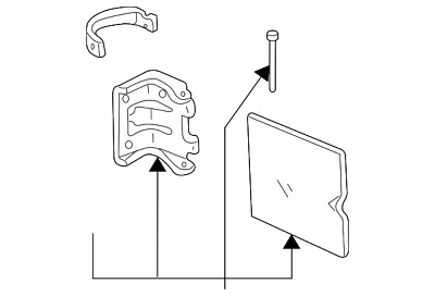 Genuine Ford Fuel Door F37z 99405a26 A