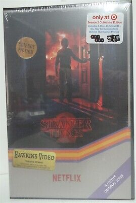 Stranger Things Season 2 (4K/UHD + Blu-Ray) 6 Discs