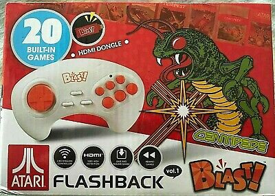 Atari Flashback Blast! Featuring Centipede with 20 Built-In Games Volume 1 New