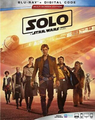 Solo: A Star Wars Story New Bluray