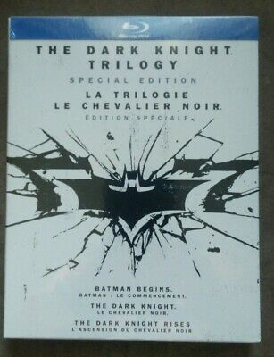 New- The Dark Knight Trilogy (Blu-ray Disc, 6-Disc, Special Edition, Canadian)