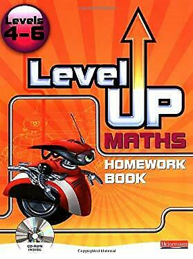 Level up Maths Level 4-6 Homework Book with LiveText Pupil CD-ROM for -ExLibrary