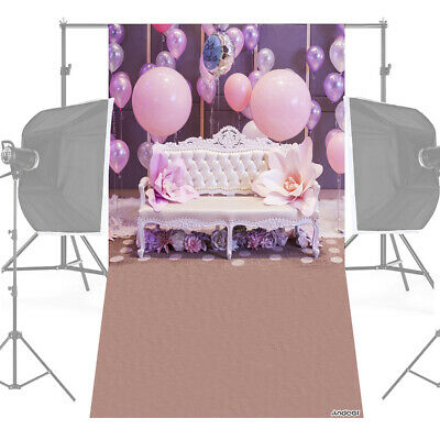 Andoer 1.5 * 0.9m/5 * 3ft Birthday Party Photography Background Balloon Y6V7