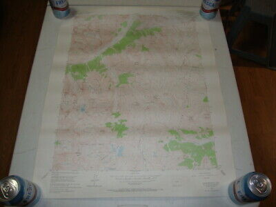 1955 U.S. Dept. of INTERIOR GEOLOGICAL SURVEY TOPO Map HOWARDSVILLE QUAD, COLO
