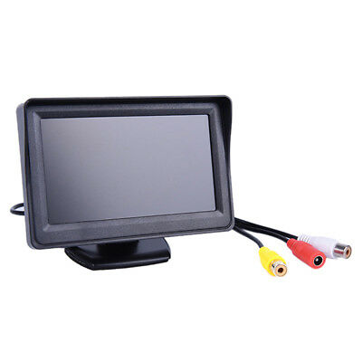 "4.3"" TFT LCD Monitor Car Rear View System Backup Reverse Camera Night VisioWTGY"