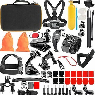 Sports GoPro Hero 7 6 5 Black Session 4 3+ 3 2 1 Action Bundle Accessories Kit