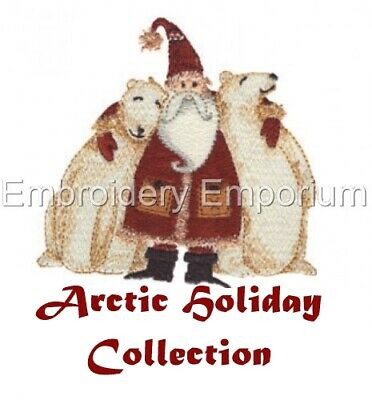 Arctic Holiday Collection - Machine Embroidery Designs On Cd Or Usb