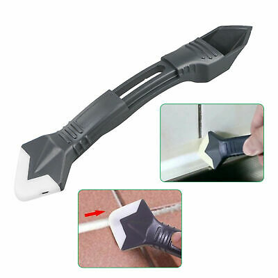 Accessory Silicone Scraper With Interchangeable Pads Hand Plastic Trowel New