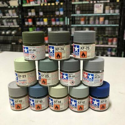 Tamiya Color X1 To X35 & XF1 To XF 86 Acrylic Paint Model Kit Varnish (水性) -10ml