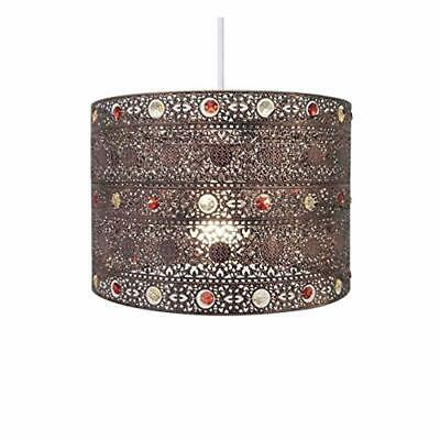 Vintage Gem Moroccan Style Chandelier Ceiling Light Lamp Shade Lampshade Decor