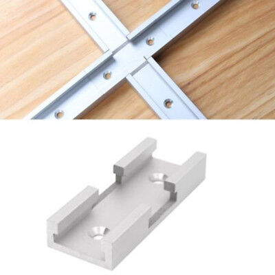 T-Track Intersection Kit T-slot Connecting Woodworking Tool Aluminum Alloy 100mm