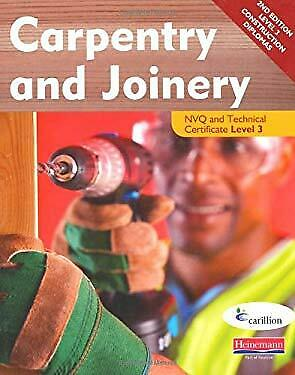 Carpentry and Joinery NVQ and Technical Certificate Level 3 Student Bo-ExLibrary