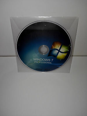 Windows 7 Professional (Pro) Product Key Retail + Dvd - 32/64Bit - Multilingual