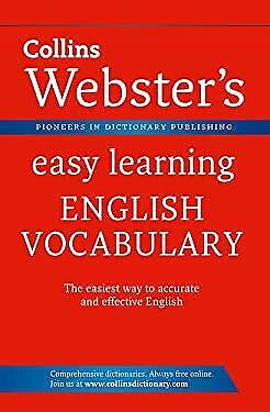 Collins Webster's Easy Learning English Vocabulary by Collins