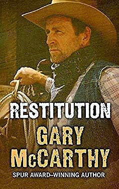 Restitution (Wheeler Large Print Western) by McCarthy, Gary-ExLibrary