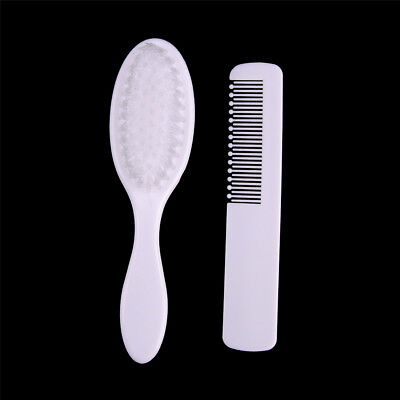 2Pcs/Set Baby Soft Hair Brush ABS Newborn Hair Brush Infant Head Comb MEQY