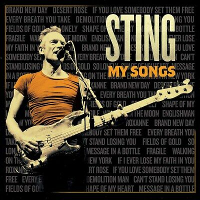My Songs - Sting (Deluxe  Album) [CD]