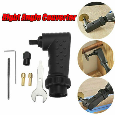 Right Angle Converter Attachment For Dremel Rotary Tools Electric Grinder Kit