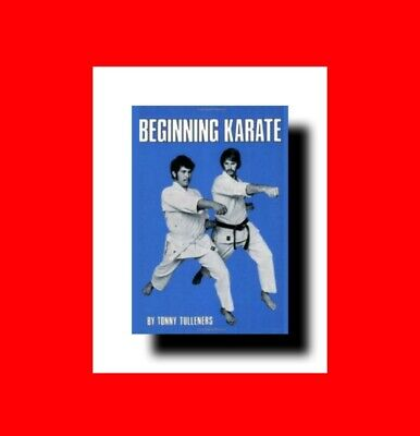 Martial Arts Book:beginning Karate(Japanese Arts) Blocks+Punches+Kicks Technique