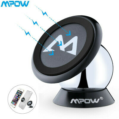 Mpow 360° Car Magnetic Dashboard Mobile Phone Holder Mount For Cell Phone iPhone