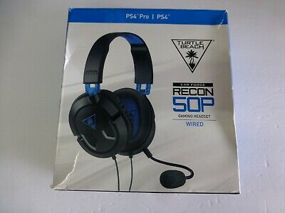 f4ea2335ad5 Turtle Beach Ear Force Recon 50P Stereo Gaming Headset DAMAGED BOX (B-10)