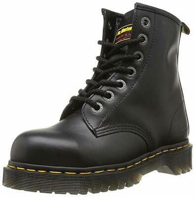 Dr Martens Icon 7B10 Black Steel Toe Cap 7 Eyelet Heavy Duty Safety Work Boots