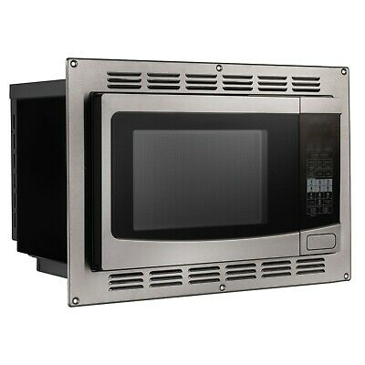 RecPro RV Convection Microwave Stainless Steel 1.1 cu. ft. | 120V
