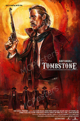 Posters USA - Tombstone Kurt Russell Movie Poster Glossy Finish - MCP282
