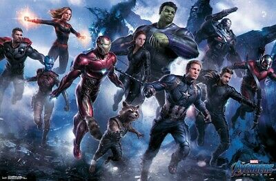 AVENGERS ENDGAME - LEGENDARY POSTER - 22x34 - MARVEL MOVIE 17257