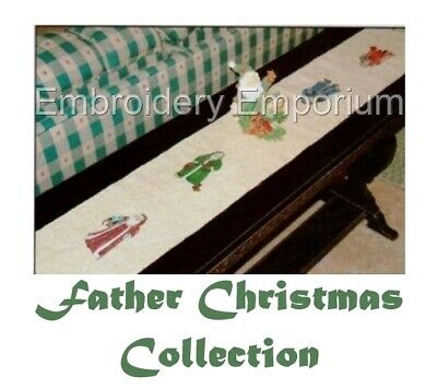 Father Christmas Collection - Machine Embroidery Designs On Cd Or Usb