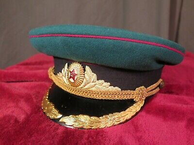 SOVIET BORDER GUARD CAP: circa 1955: Zhukov model: RARE