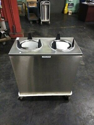 """Servolift Plate Lowerator Dispenser Duel up to 9 1/4"""" Good Condition"""
