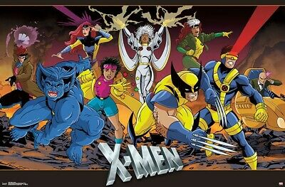 X-MEN - CHARACTER LINE-UP POSTER - 22x34 - MARVEL COMICS 17383