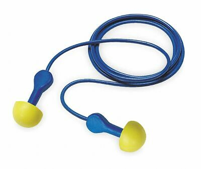 LS1841-4T152-3*K Yellow 3M 25dB Reusable Flanged-Shape Ear Plugs; Corded