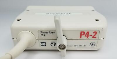 ATL P4-2 Phased Array 64 Elements Ultrasound Transducer Probe (GP22)