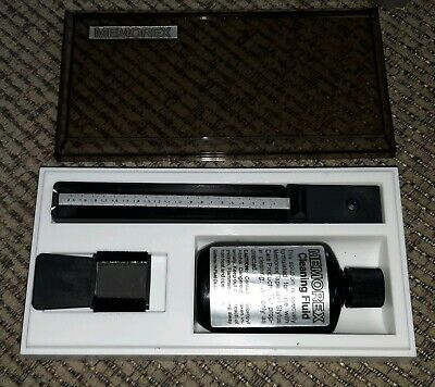 Memorex Stylus Care Kit In Box Record Player Cleaning Solution Brush