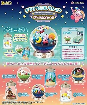 Pre-Sale Kirby Super Star Terrarium Collection Deluxe Memories 6 types Set Toy