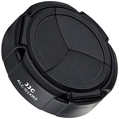 JJC Automatic Lens Cap Protective Cap Protects Against Scratches Spray Water &