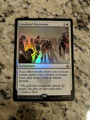 ANOINTED PROCESSION X4 Amonkhet AKH Magic MTG MINT CARD Toys & Hobbies MTG Individual Cards
