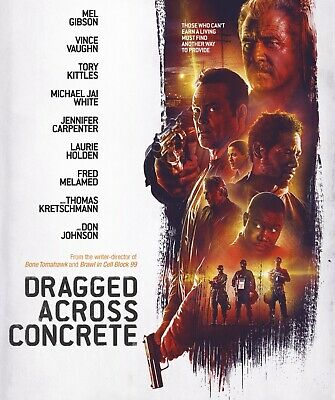 Dragged Across Concrete Region 1 DVD *DISC ONLY* *BRAND NEW* Mel Gibson