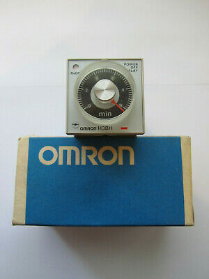 OMRON TIMER H3BH-8 0.5 TO 10 mins UNUSED OLD STOCK