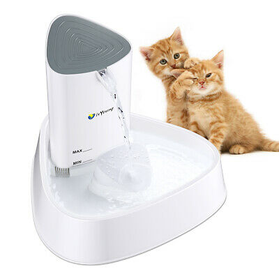 1.5L Automatic Electric Pet Dog Cat Water Fountain Drinking Bowl Dish Dispenser