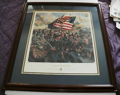 "Limited Edition Don Troiani ""Eagle Of The Eighth"" Civil War Print  511/1000"