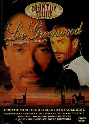 Lee Greenwood - A Christmas Special. NEW DVD