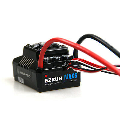 Hobbywing EzRun MAX6 V3 160A Waterproof Brushless ESC Speed Controller 1/6 1/7