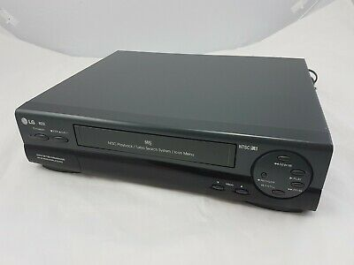 LG N23I Video Cassette Recorder Player VCR  NTSC Playback VHS