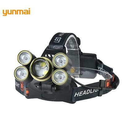 Zoomable 35000 LM Military Head Lamp -T6 + XPE LED Headlamp Head BR