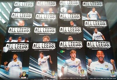 18/19 LEEDS UNITED Home Programmes ( choose from the drop down list)