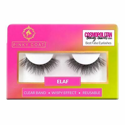 Pinky Goat False Eyelashes - Elaf